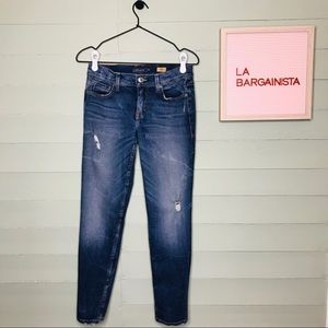 Level 99 Anthropologie Casey Tomboy Jeans